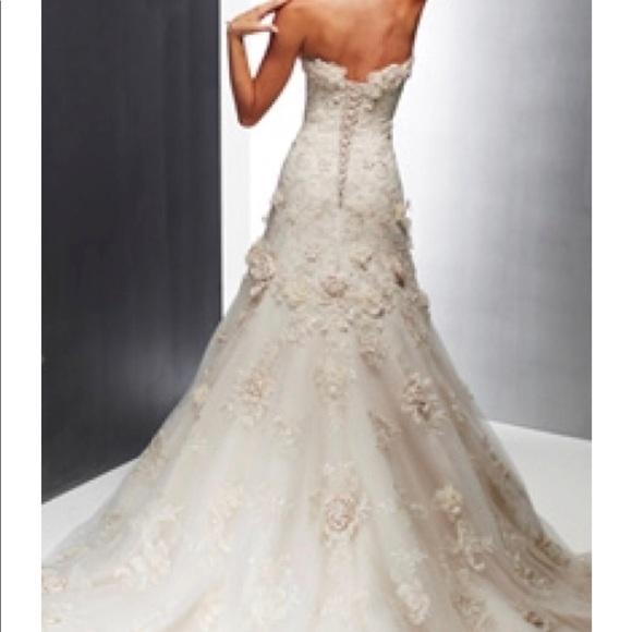 Maggie Sottero Dresses | Vintage Haute Couture Wedding Dress | Poshmark